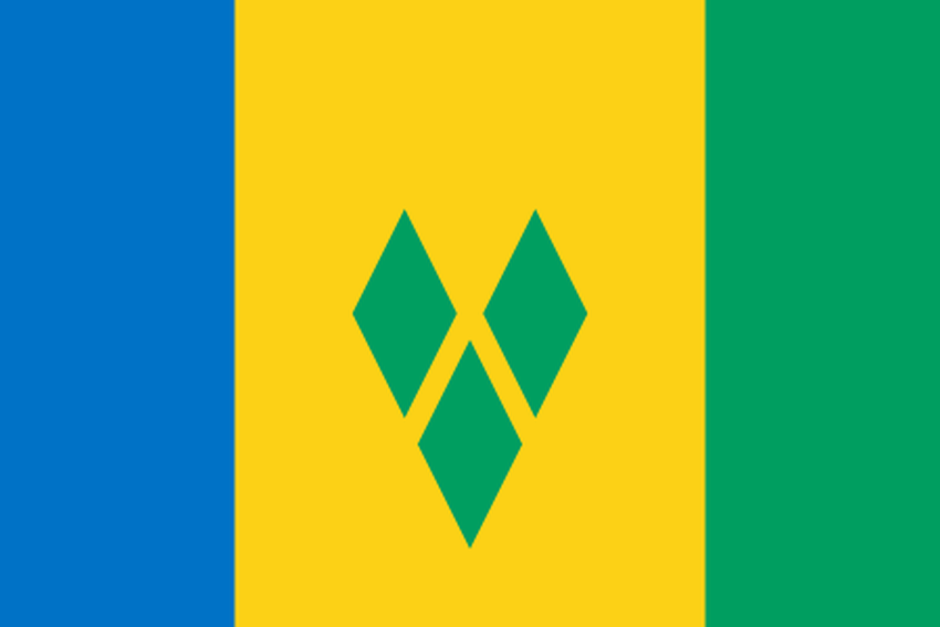 flag st.vincent